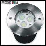 Vertieftes LED Inground Licht der Leistungs-304 316 Edelstahl