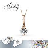 Cristal de la joyería del destino del colgante y de los pendientes determinados de Swarovski París