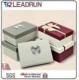 ギフトのペーパー木製の宝石箱の宝石類の収納箱包装ボックス宝石箱の荷箱の革ボックスペーパーギフトガラス一定ボックス(Lrj78)