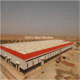 Costruzione commerciale e residenziale industriale prefabbricata della struttura d'acciaio