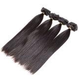 Grampo do cabelo indiano de Remy das extensões do cabelo no grampo reto do americano africano no Ins reto do grampo de cabelo do Virgin do 1b da extensão do cabelo humano