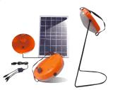 Lampada di mano portatile solare dell'indicatore luminoso della lettura della carica LED