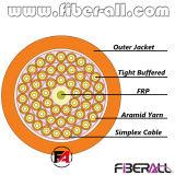 Palavra simples interna do cabo ótico 2.0mm da fibra da fuga dentro de 10 núcleos