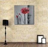 Fleur décorative de la peinture à l'huile