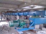 Screw Conveyor Sluggish Material Handling에 자유로운 Flowing를 위한 Shafted 그리고 Shaftless