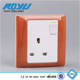 PC Material 13A Briten Standard Wall Switch Socket