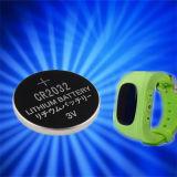 Lithium-Tasten-Zellen-Batterie für OLED Bildschirmanzeige-intelligente Uhr