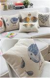 綿厚いセクションソファーベッドのウエスト北欧様式のクッションの枕
