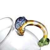 De buitensporige Kop van het Glas van de Hand voor Thee (CHT8612)