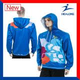 HealongよいデザインSportwearの昇華Windbreakの大学Hoodie