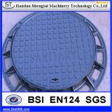 ASTMの標準粉の上塗を施してあるマンホールカバー格子