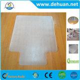 堅い床のための背部PVC椅子のマット、インチを長方形ゆとり、60のx 48滑らかにしなさい