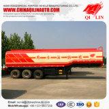 40000 litros de soja del petróleo del transporte del petrolero de acoplado semi