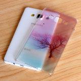 Concevoir la caisse en fonction du client de TPU pour la marque 6s a compatible de l'iPhone 6 de l'iPhone 5/5se pour le mobile de Samsung A5/J2/J7/S7/S7edge/le cas couverture de téléphone cellulaire