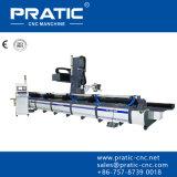 Cnc-Metall, das Maschinerie mit motorisiertem Spindel-Pratic-PC aufbereitet