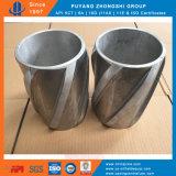 Centralizzatore rigido solido di alluminio dell'intelaiatura in giacimento di petrolio