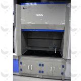 金属鋼鉄化学実験室の発煙食器棚