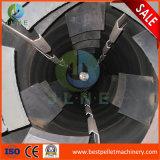 Eficiência elevada três camadas do secador giratório da serragem