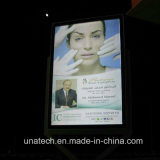 Défilement en aluminium Lightbox de la publicité extérieure DEL de panneau-réclame