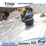Flatlockのプロジェクトのための金属の屋根ふきのパネル