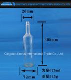 Vaso di vetro Lungo-Con il collo della vodka e della birra (JH-1223)