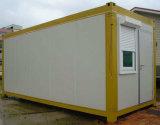 Camera prefabbricata ecologica del pannello a sandwich dell'isolamento per la vita provvisoria