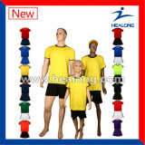 Uniformes novos do futebol do projeto, uniforme do futebol de Sublimaion