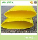 "Tubo Flexible flexible plástico de la manguera de Layflat del PVC para la manguera de jardín del riego de agua 2 """