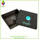 Изготовленный на заказ коробка ювелирных изделий подарка специальной бумаги упаковывая