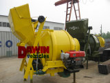 Mélangeur de béton diesel Yanmar à refroidissement par eau Mélangeur à béton 350L 500L