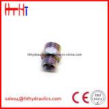 1CH/1DH-Rnw Metirc Mann 24 Grad-Kegel-metrische Ring-Dichtungs-hydraulischer Adapter von der hydraulischen Fabrik