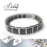 Cristalli dei monili di destino dal braccialetto della ceramica del nero del braccialetto di Swarovski