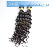 Do Virgin de Oprah peruca preta ondulada real Cosplay por muito tempo