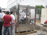 アルミホイルのシーリング機械が付いているフルオートマチックのびんジュースの熱い詰物