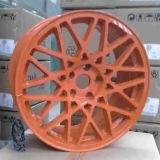 Красивейшее красное желтое Rotiform колесо с высоким качеством