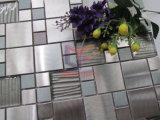 Mattonelle di mosaico di vetro della miscela del metallo (CFM1013)