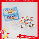 Bocado poner crema tricolor del chocolate del caramelo (CHO-89)
