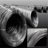 Emballage galvanisé de fil d'acier dans la bobine ou le fût en bois