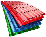 Feuille en acier ondulée de toiture pour l'acier de matériau de construction