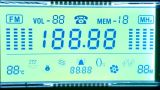 Alfanumerieke LCD Vertoning voor het Controlemechanisme van de Temperatuur