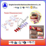 Celofane automático sobre o envolvimento da máquina de empacotamento