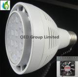 Bulbos do diodo emissor de luz do Ce 40W 3500lm PAR30, iluminação do ponto da trilha do diodo emissor de luz de G12 E27, bulbo do diodo emissor de luz de Dimmable PAR30 para a alameda