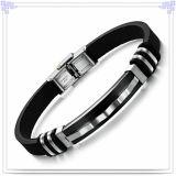 Handgelenk-Band-Gummiarmband-Silikon-Armband (LB225)