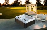 Double Sex Outdoor Fiberglass Jacuzzi Whirlpool SPA (M-3392)