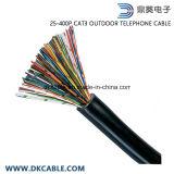 25~400 пар кабеля телефона категории 3 напольного