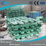 Hohe Mangan-Stahl-kundenspezifische Kiefer-Platte für Kiefer-Zerkleinerungsmaschine