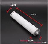 O filtro de água da mesa/purificador com vela de filtro cerâmica da água combinou o bloco do carbono, sulfito de Kdf&Calcium