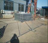 Geschweißter Maschendraht und Kettenlink-Zaun