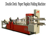 Tecido do guardanapo de papel que faz a máquina