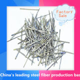 Extracto de acero fundido de fibra utilizada en Moldeable refractario